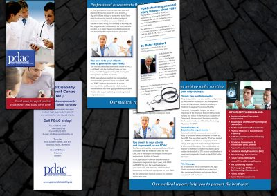 Brochure for PDAC