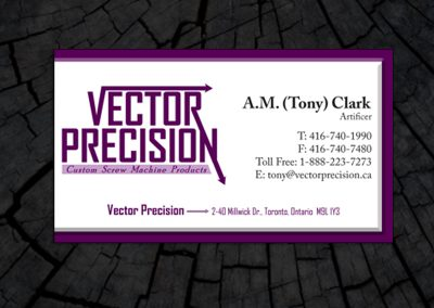 Vector Precision Business Card