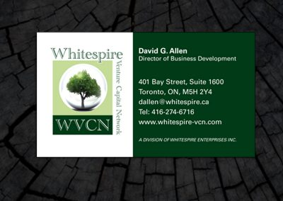 Whitespire Business Card
