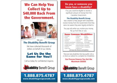 Postcard Disability Benefit Group