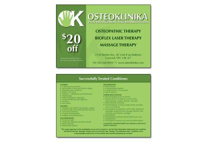 Postcard Osteoklinika